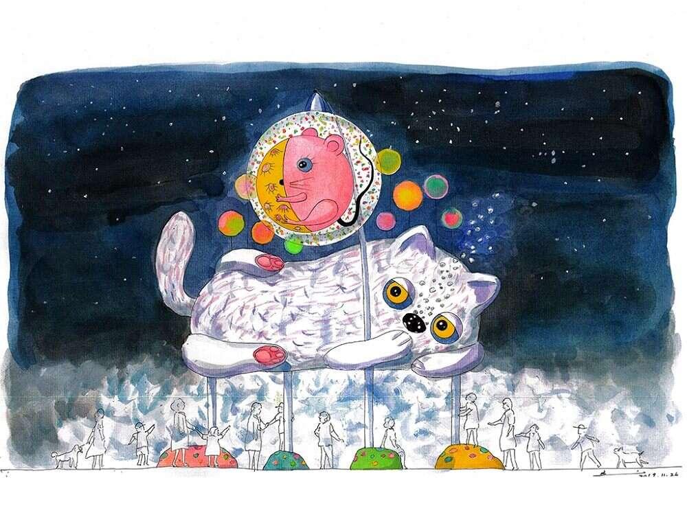 2020台北燈節。展期2/8-2/16|躲貓貓、展風神,首創東西區雙主燈