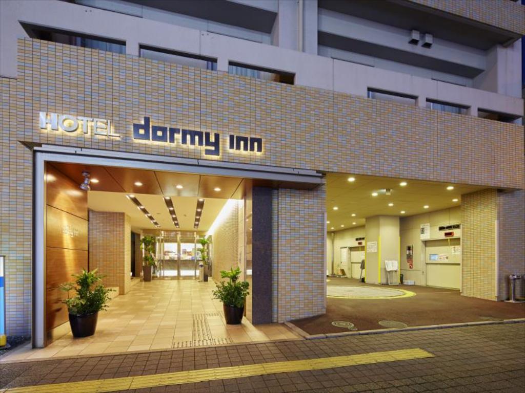 Dormy Inn Takamatsu。高松溫泉飯店|精華地段住宿