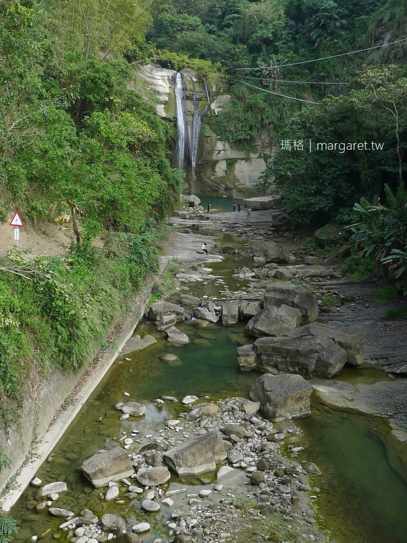 青雲瀑布。西拉雅國家風景區情人瀑布|嘉義大埔鄉