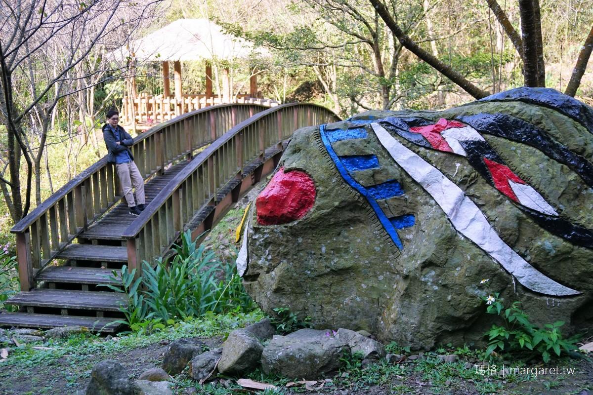 來吉部落。鄒族聖山下的山林秘境|全世界最可愛彩繪山豬石雕都在這