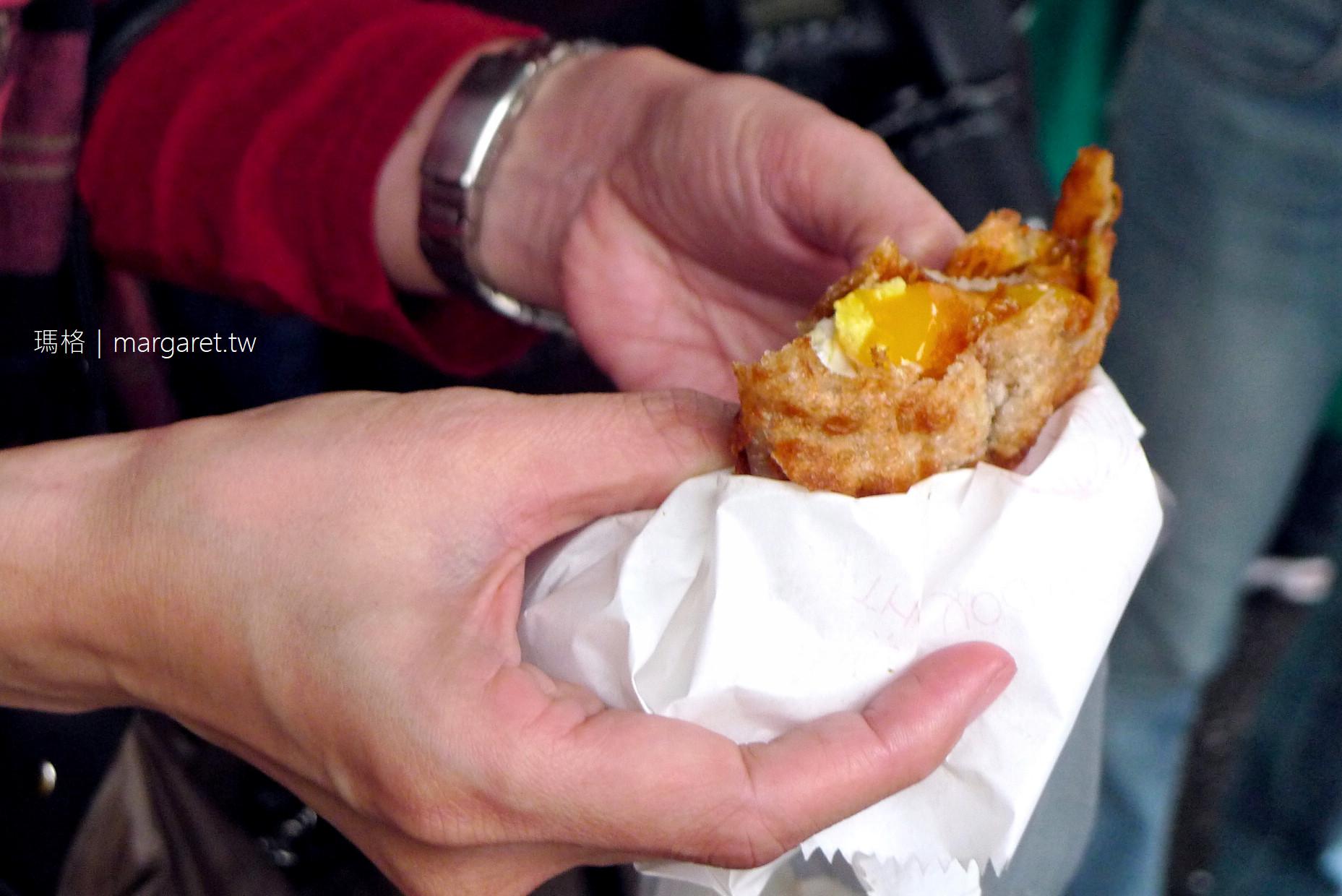 花蓮。炸蛋蔥油餅 |復興街102號前黃色小貨車