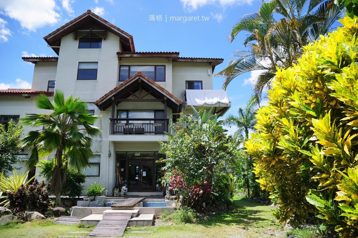 集集棕梠泉民宿。被田野環繞的峇里島風渡假villa|官方認證南投特色民宿