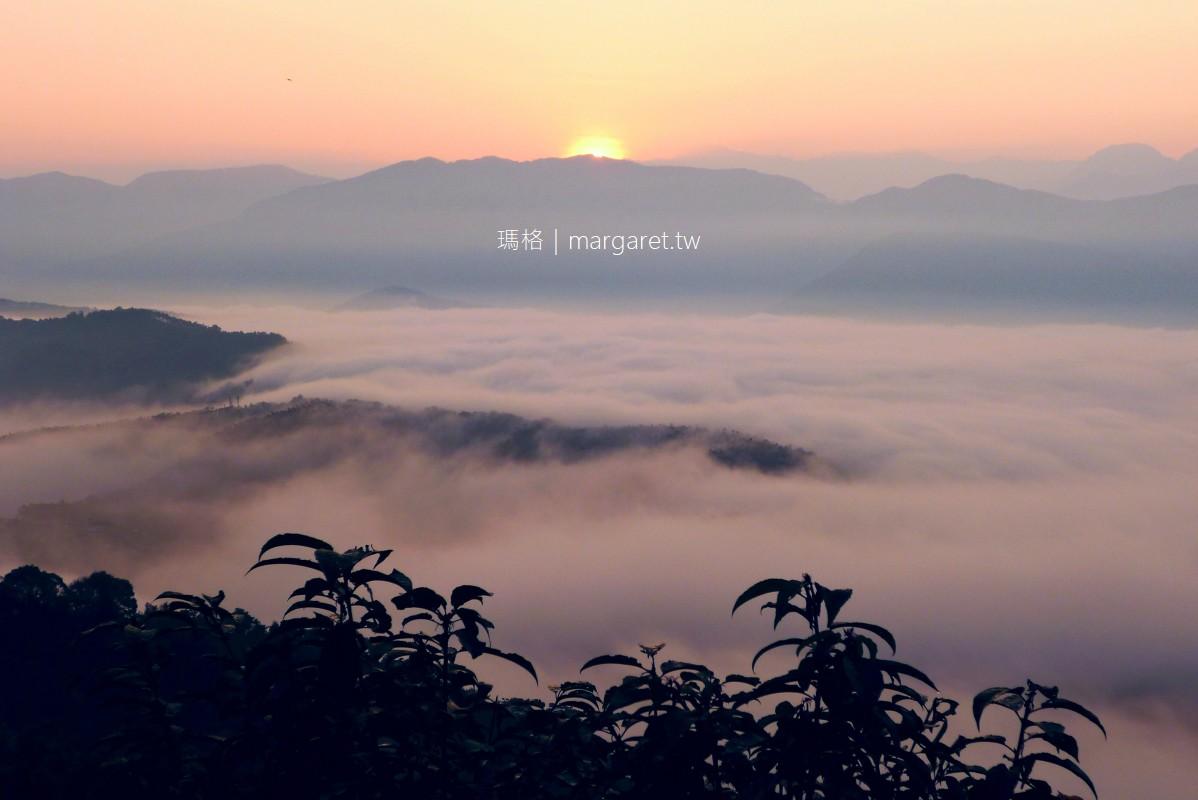 金龍山。台灣三大日出勝地之一|同時看見日出與雲海真是太幸運了