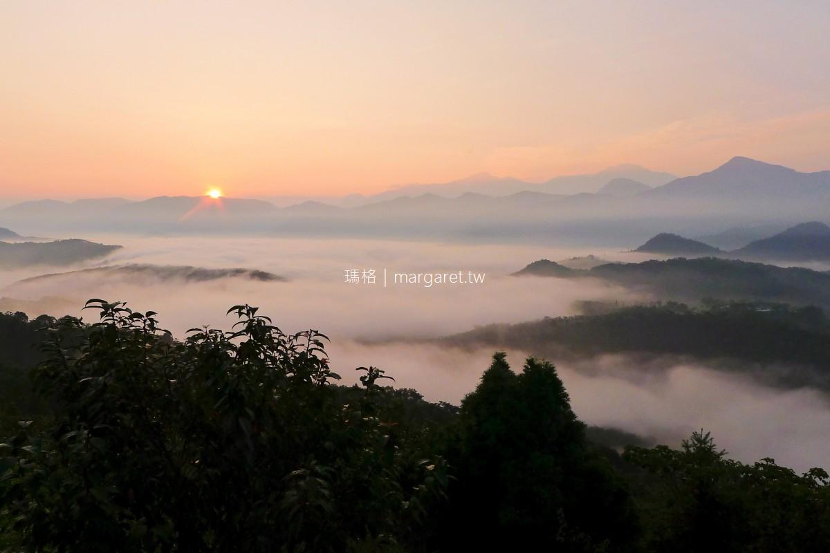 金龍山。台灣三大日出勝地之一 同時看見日出與雲海真是太幸運了
