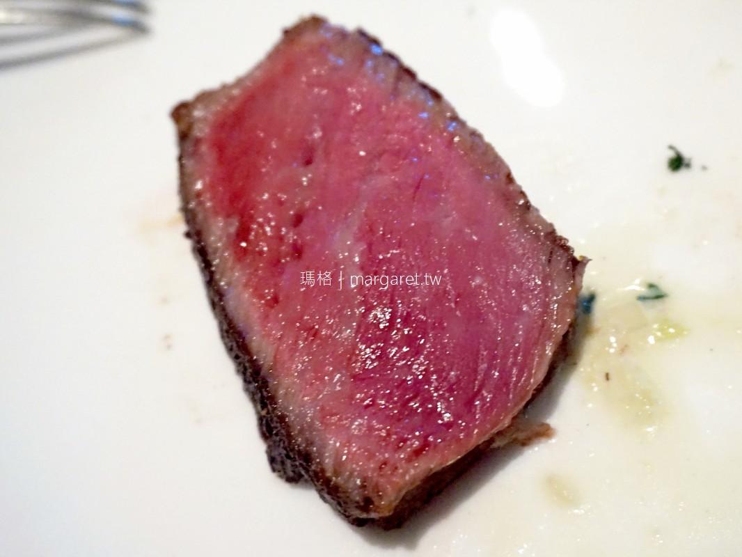 國賓飯店A CUT牛排。乾式熟成40天帶骨肋眼|2021台北米其林一星
