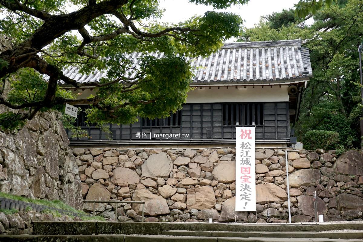 松江城。我的第一座日本國寶城|城牆的結緣愛心石看見了嗎?