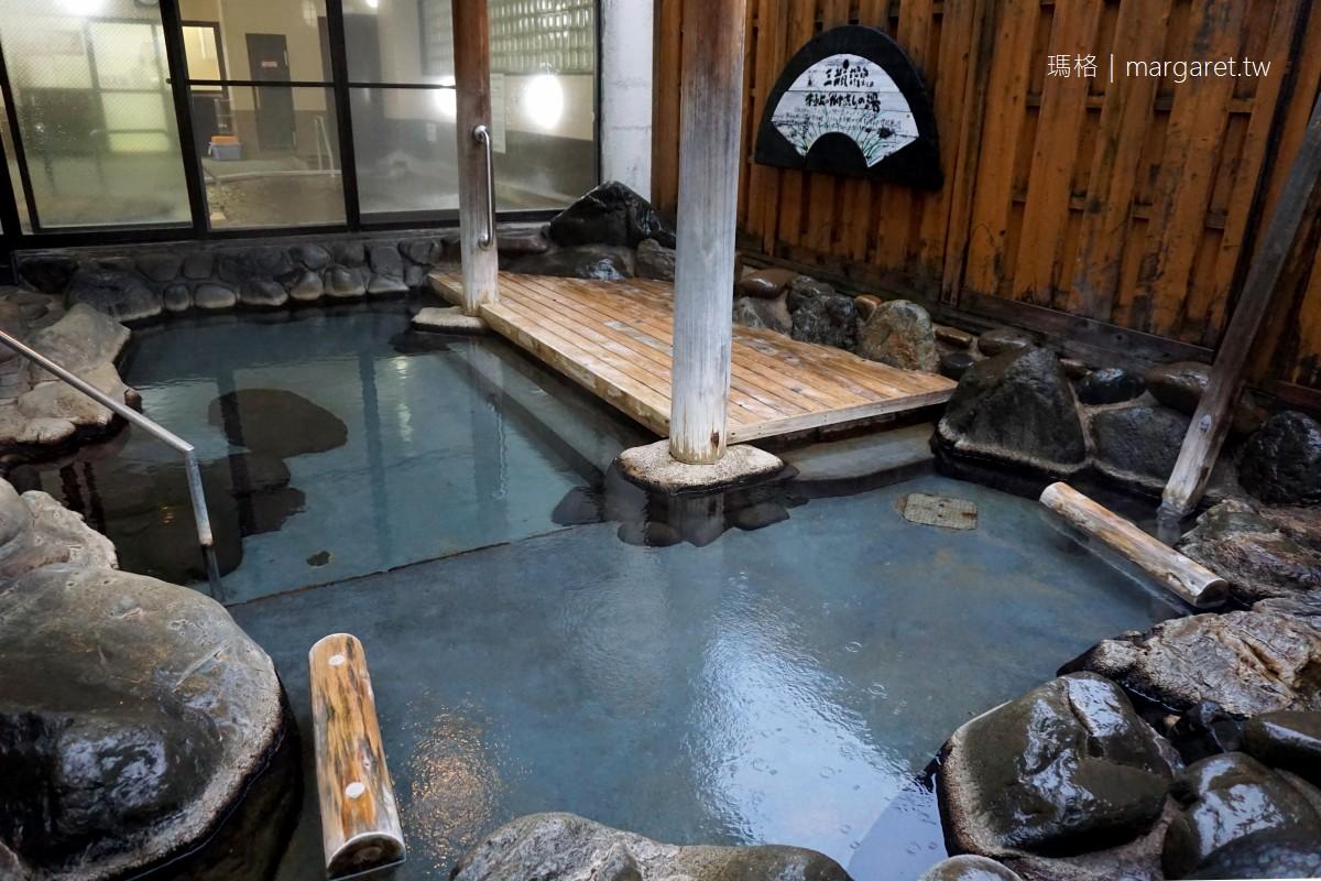 SANBE莊。三瓶溫泉國民宿舍山麓の宿さんべ荘 我的大浴場初體驗。日本島根結緣之旅