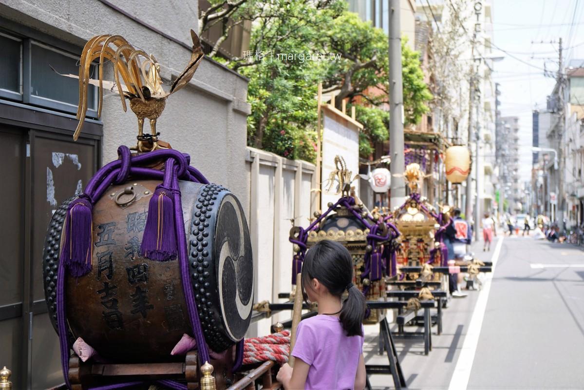 日本咖啡教父田口護的Café Bach巴哈咖啡館 淺草三社祭街頭巡行