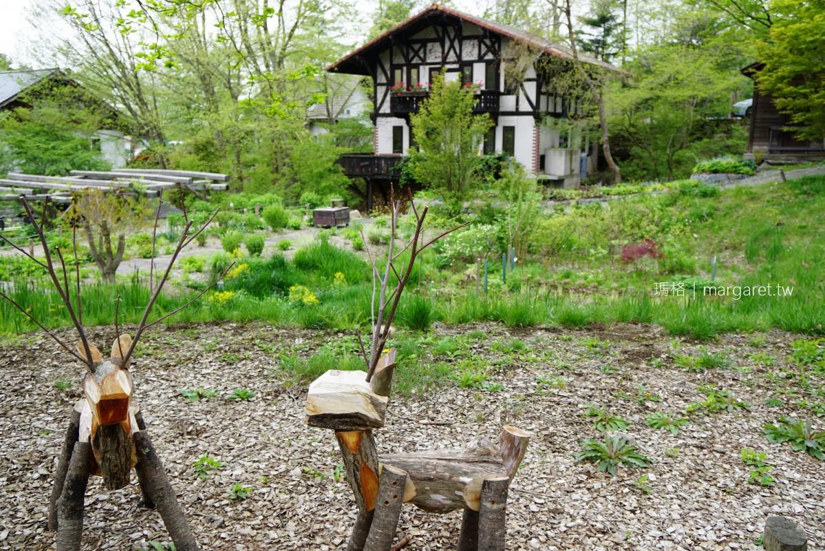 萌木之村。清里高原童話世界|森林裡的旋轉木馬。Hall of Halls八音盒博物館