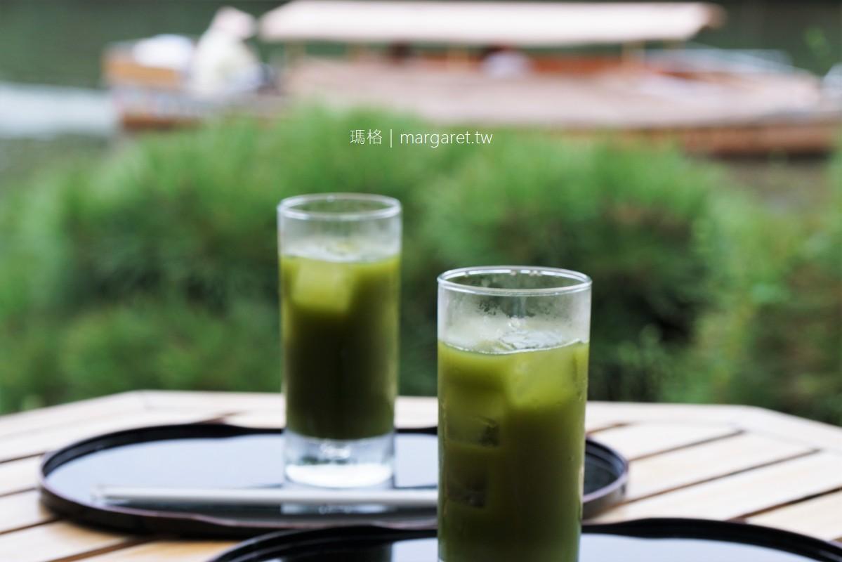 松江塩見縄手。塩見茶屋|松江城護城河畔咖啡館