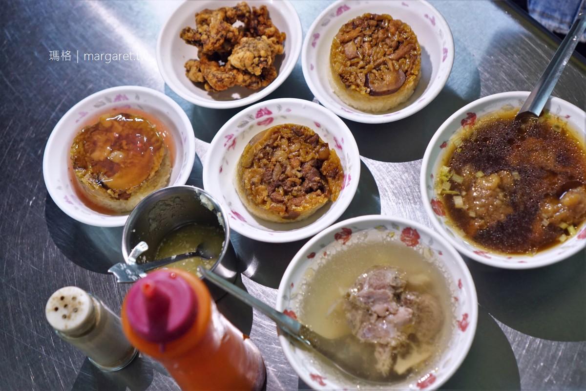 袁家筒仔米糕排骨酥。香氣逼人|嘉義東市場美食