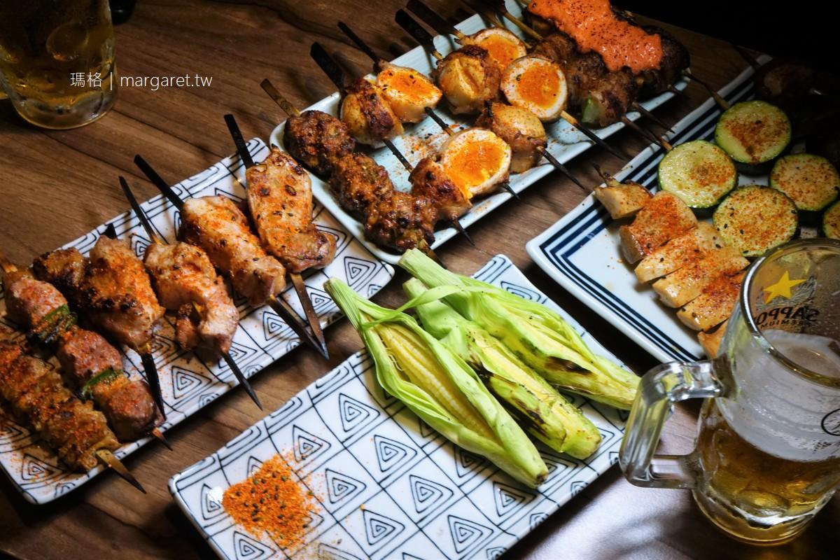 燃手串。嘉義文化路日式燒烤店|源自串燒聖地福岡久留米焼き鳥風格