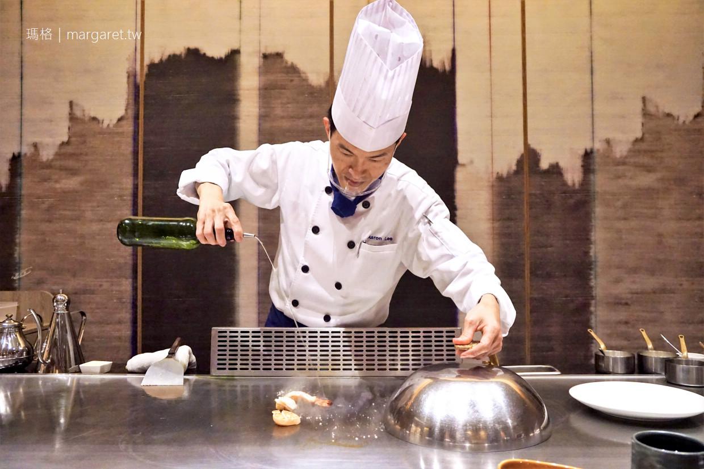 最新推播訊息:藏在飯店日式餐廳裡的高檔鐵板燒。台南安平區美食