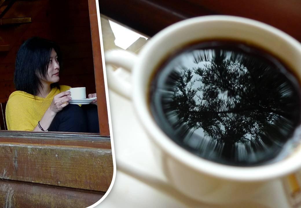 容園谷景觀渡假山莊的曼巴咖啡|南庄山景咖啡 @瑪格。圖寫生活