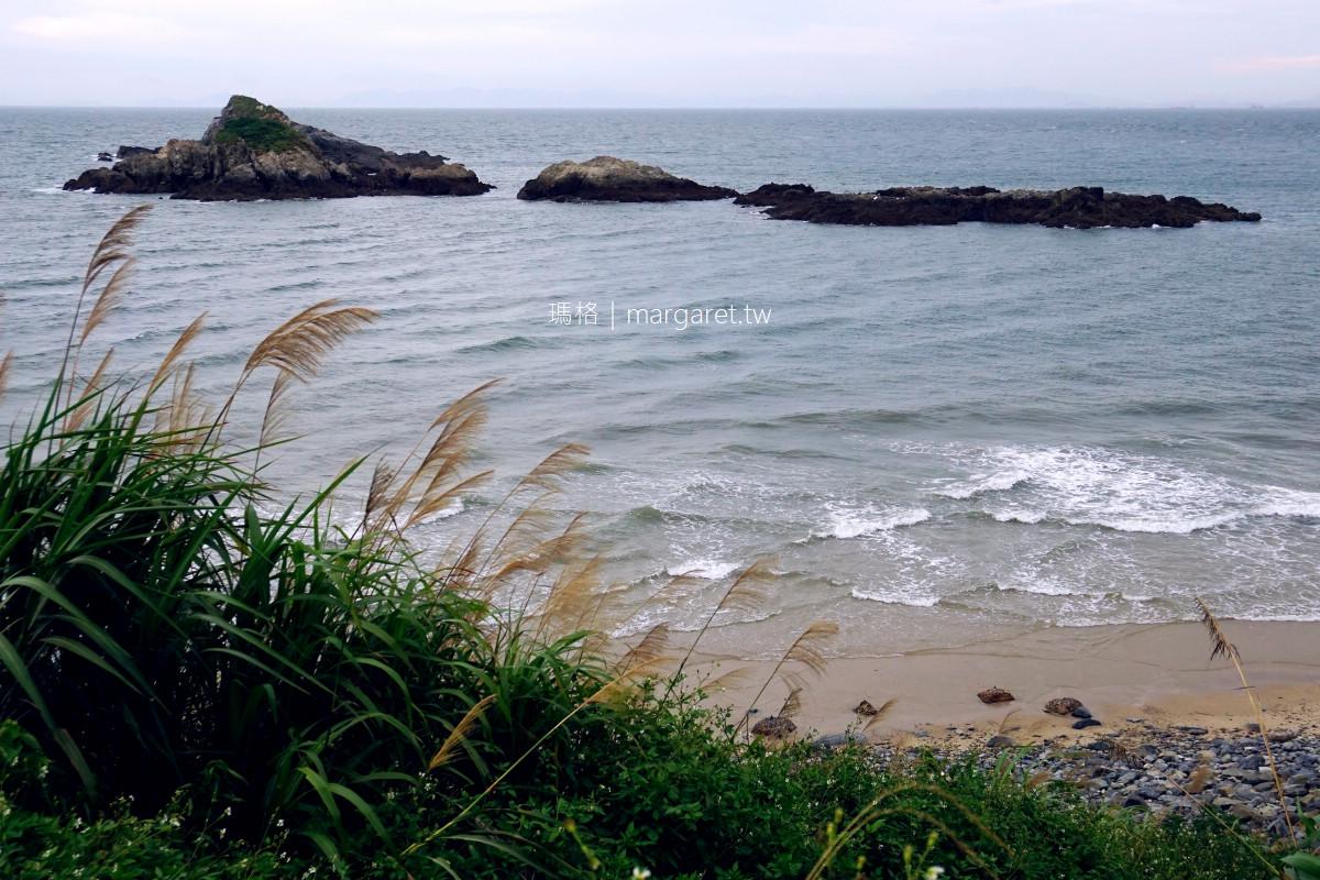 馬祖方塊海。西莒坤坵沙灘|陸連島、淺灘、海流、潮汐共譜的季節奇景
