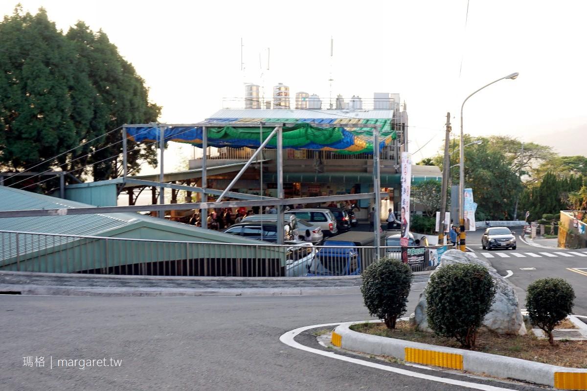 明潭二坪冰店。南投水里|鳥瞰濁水溪風光