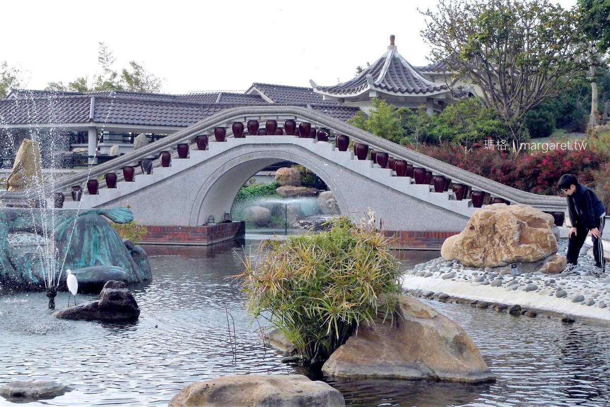 台中港區藝術中心。清水幽靜景點|閩式庭園建築