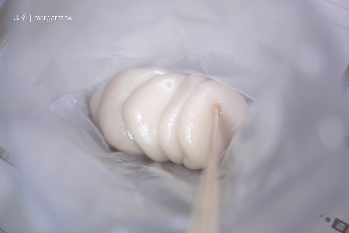麻糬寶寶。饒河街夜市美食|2020米其林餐盤推薦街頭小吃