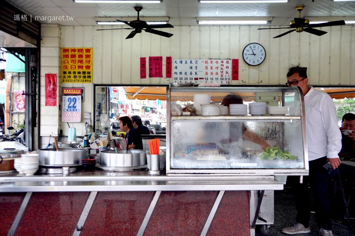 南田火雞肉飯。第二名好吃的火雞翅|營業超過20小時的嘉義菜市場巷口小吃