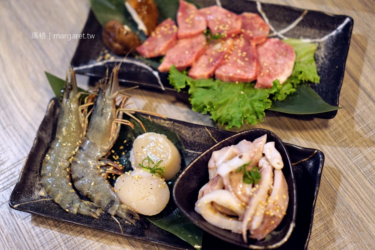 壹心燒肉。嘉義冷藏牛肉日式燒烤|河豚一夜干最難忘