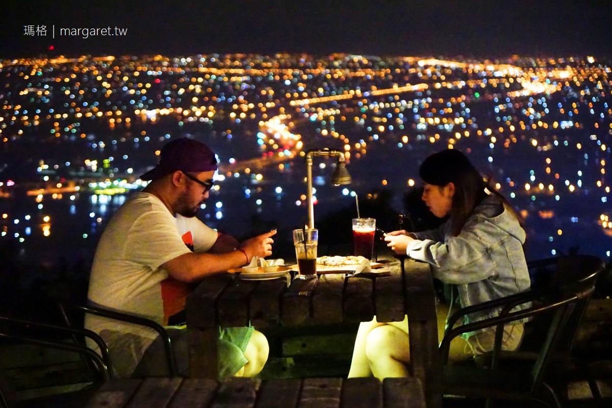 礁溪空ㄟ咖啡。蘭陽平原無敵夜景|國際水準手工窯烤披薩不是蓋的
