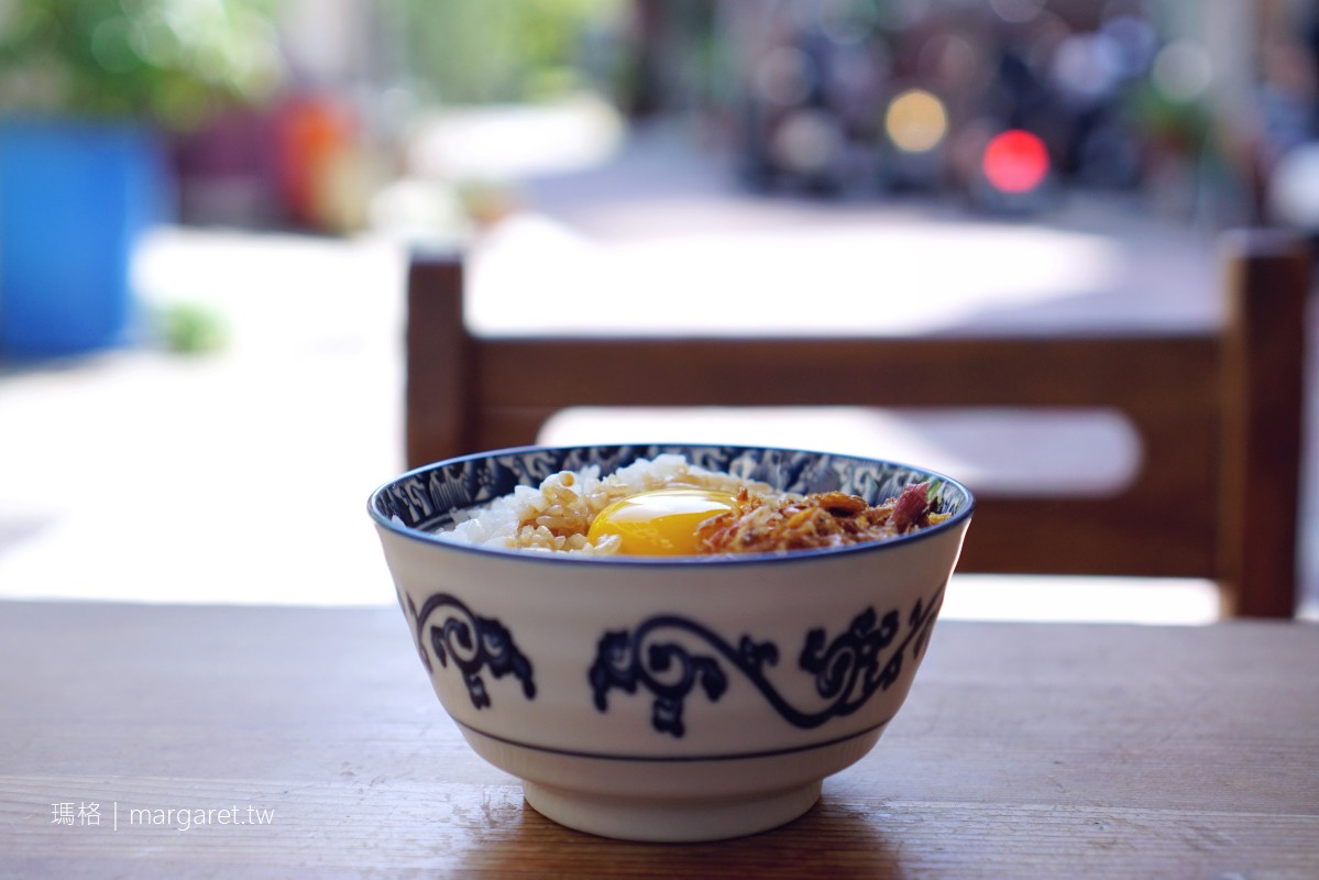 鼎富發豬油拌飯。加顆生雞蛋更銷魂|台南巷弄古早味小吃