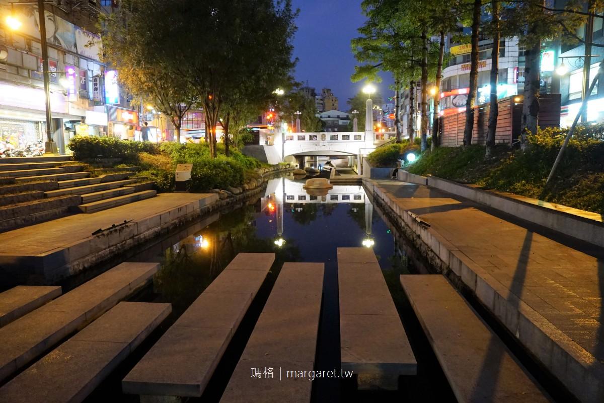 最新推播訊息:不只宮原眼科。台中綠川水岸有8景,越夜越美麗