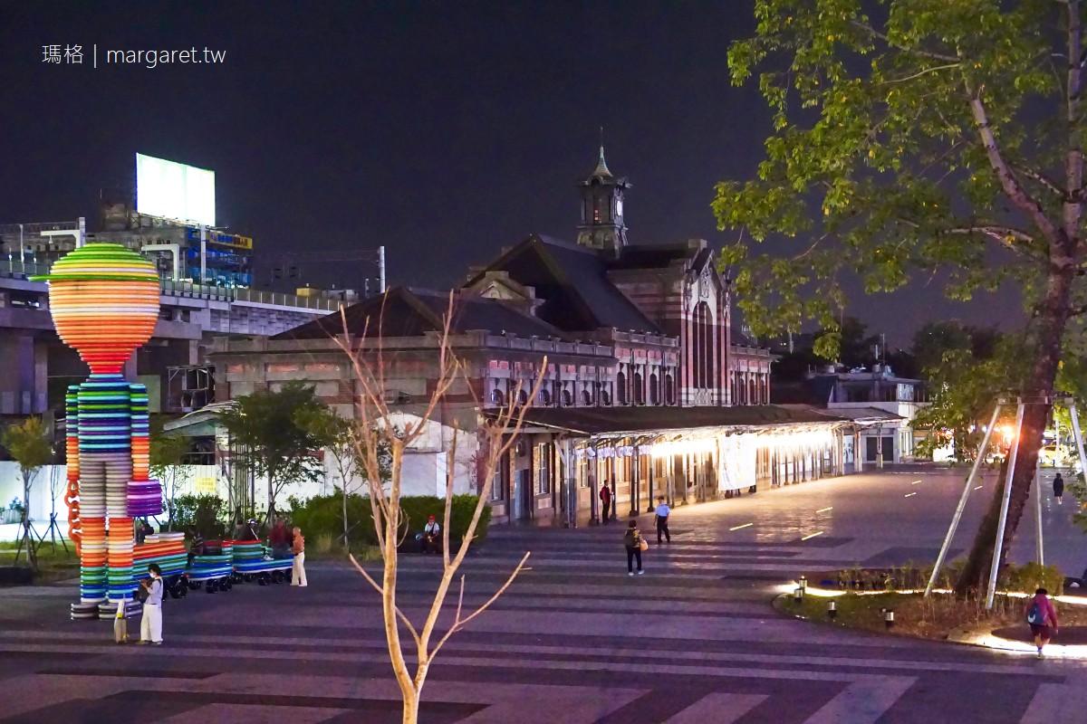 台中車站。全臺保存最完整火車站之一|新舊站三代同堂奇景
