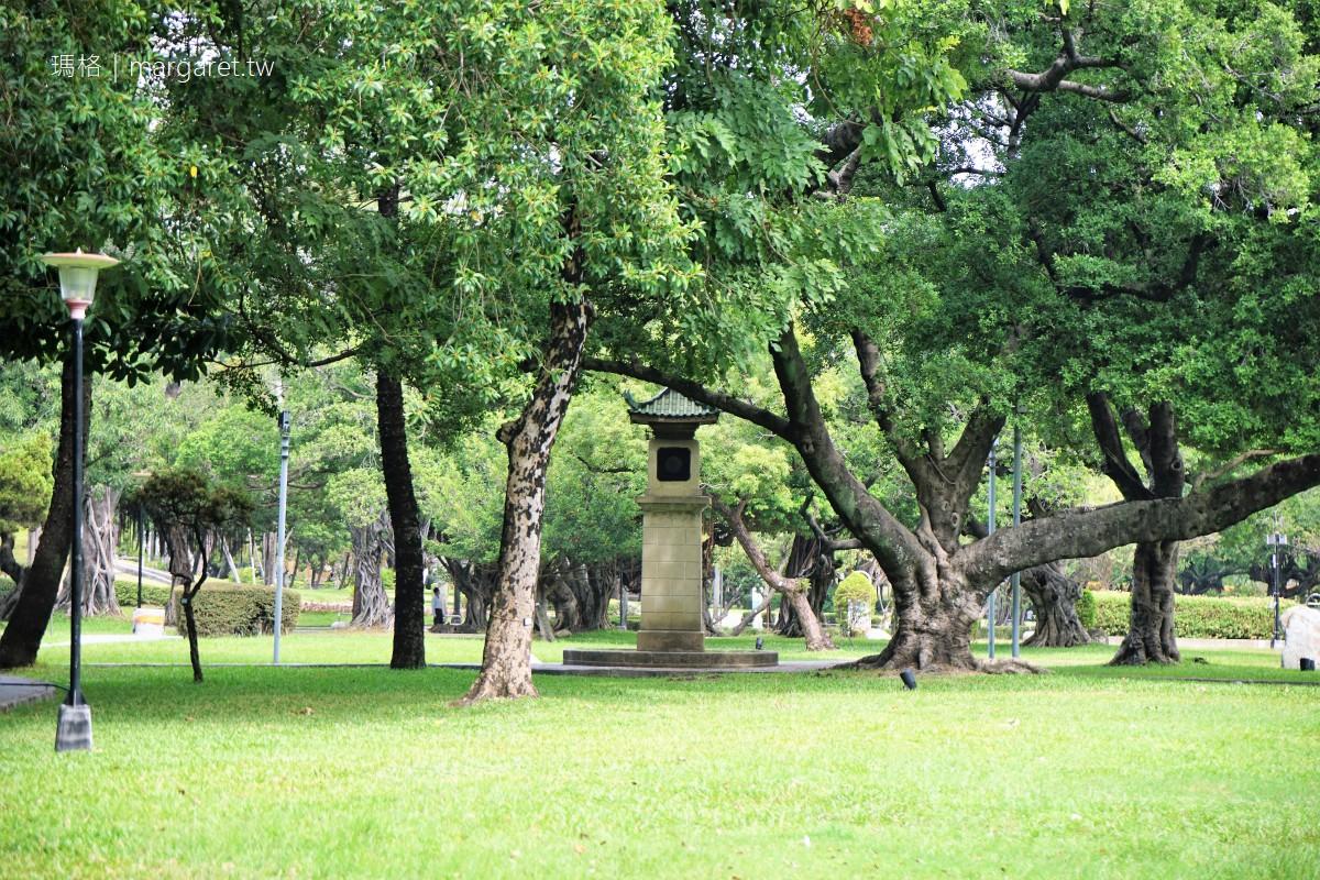 台中公園走走。市定古蹟湖心亭|園中諸多歷史遺跡