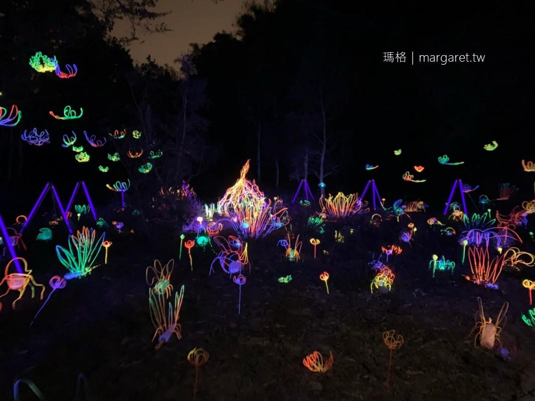 台南龍崎光節。空山祭|2020大地迴生。被譽為全台最美山中燈會