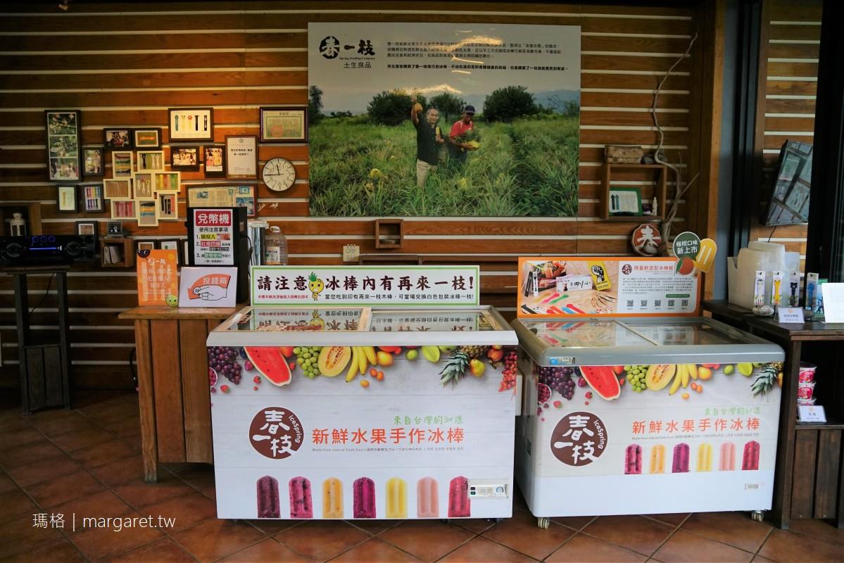 春一枝鹿野76天然水果手作冰棒。24小時不打烊誠實商店|眺望都蘭山絕佳觀景台