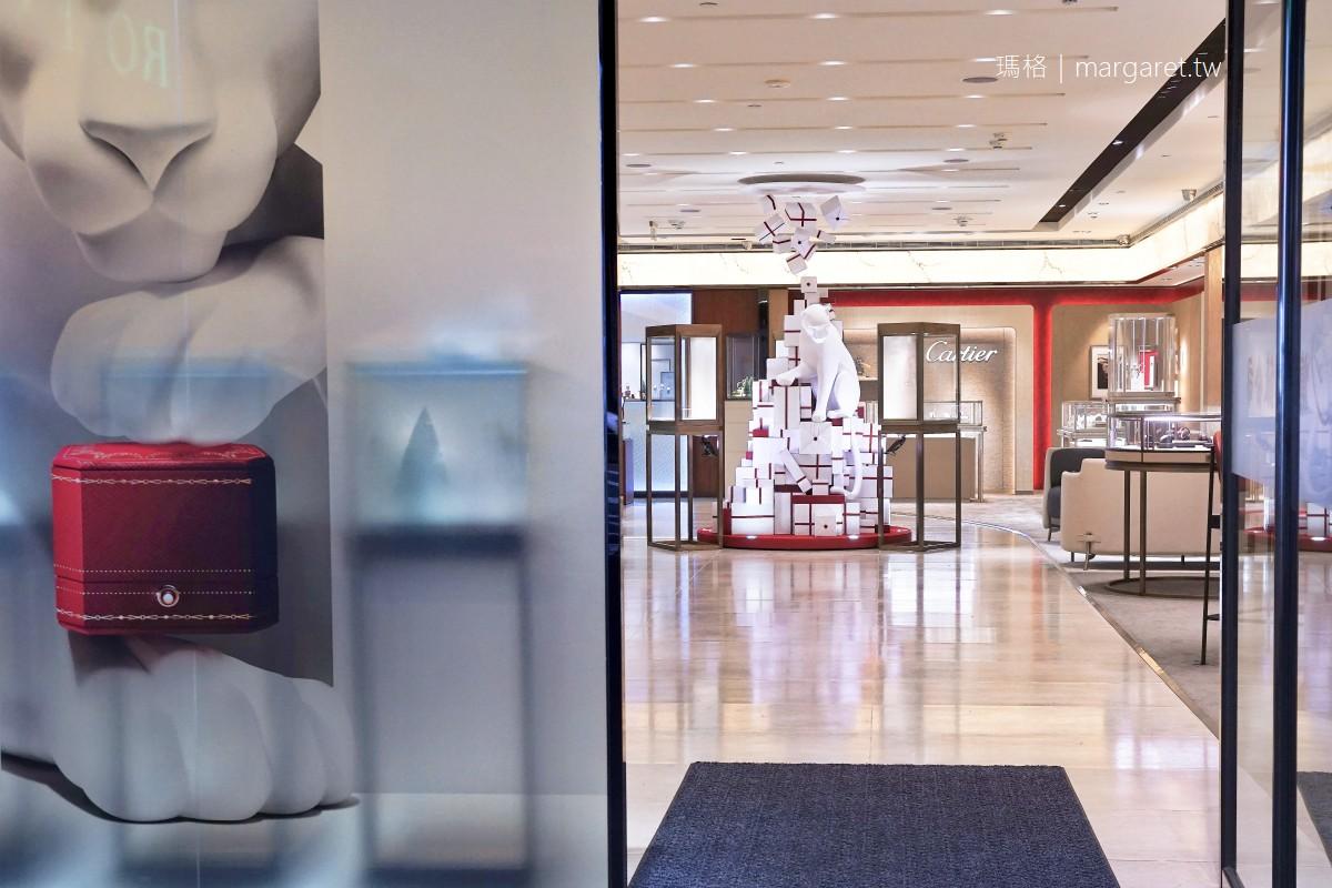 美洲豹與卡地亞。最美大貓聖誕樹現蹤台北東區|Cartier高級珠寶腕錶展 x 慎昌鐘錶忠孝店