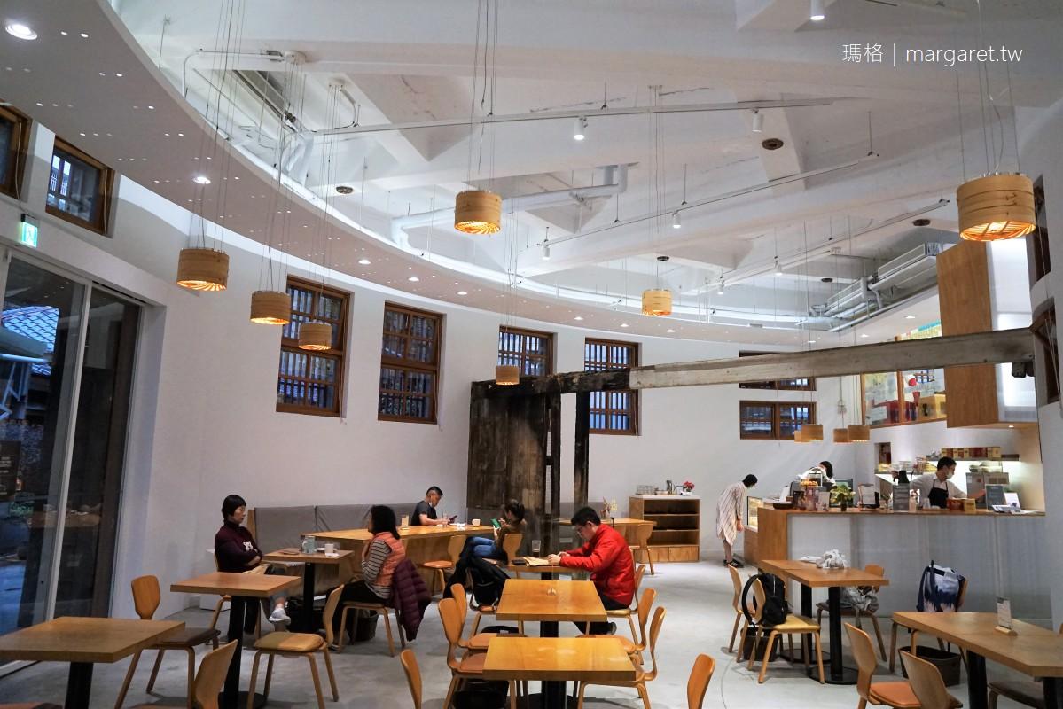 明日咖啡MOT CAFÉ。日治建築古蹟新造|新富町文化市場。剝皮寮歷史街區
