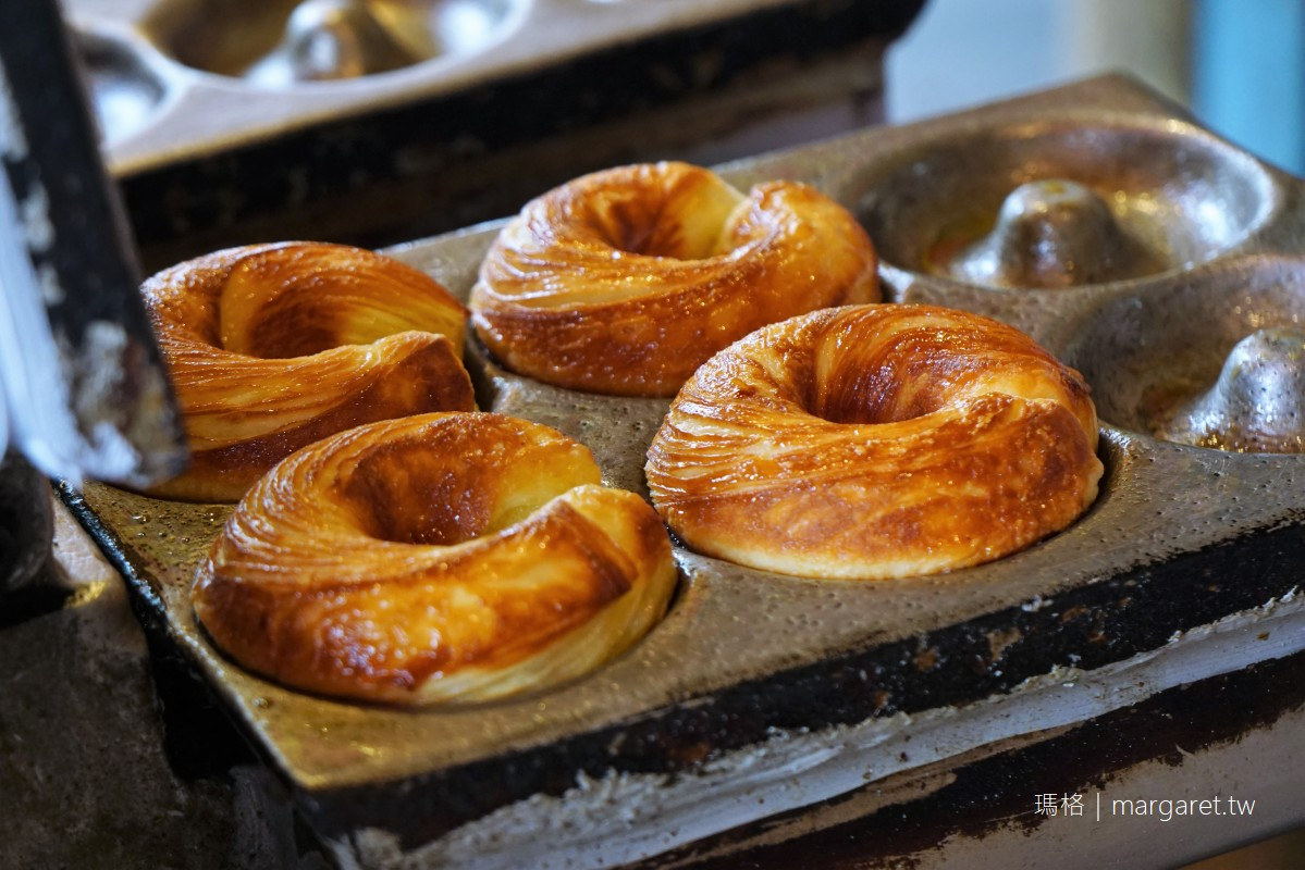 百年檜木甜甜圈。奮起湖排隊美食|非油炸、香甜酥烤