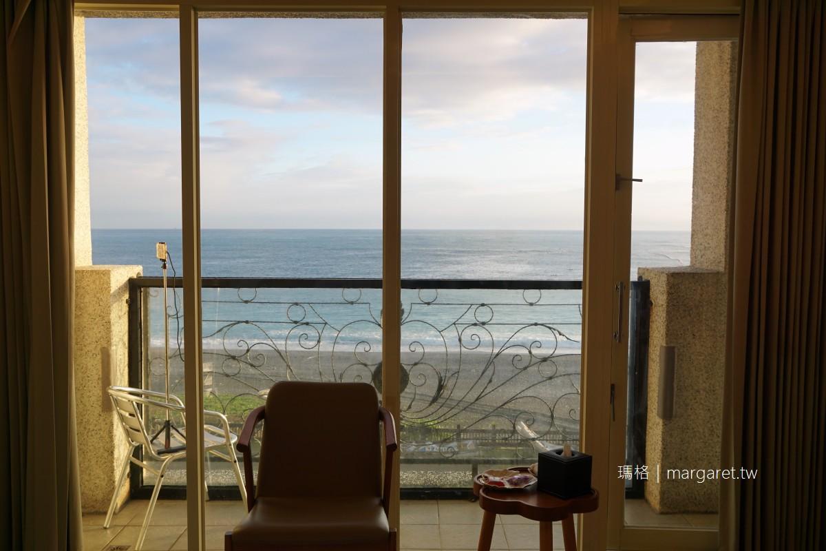 花蓮七星潭迎星會館。價格平實海景第一排|房間就可以看日出