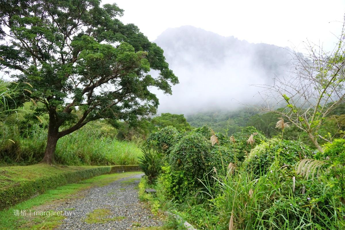 宛如仙境。花蓮富里羅山遊憩區 大埤塘、泥火山、羅山瀑布