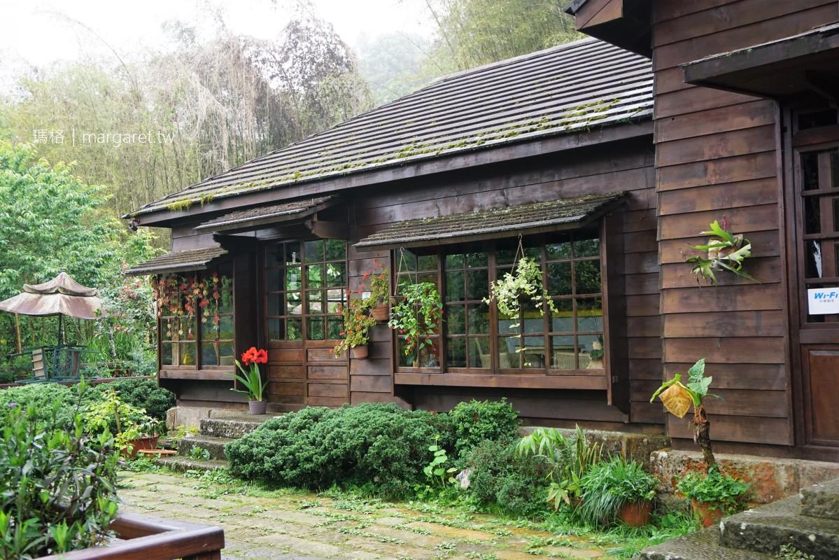 翠檒軒庭園咖啡。前身為奮起湖文史陳列室|嘉義阿里山深度之旅