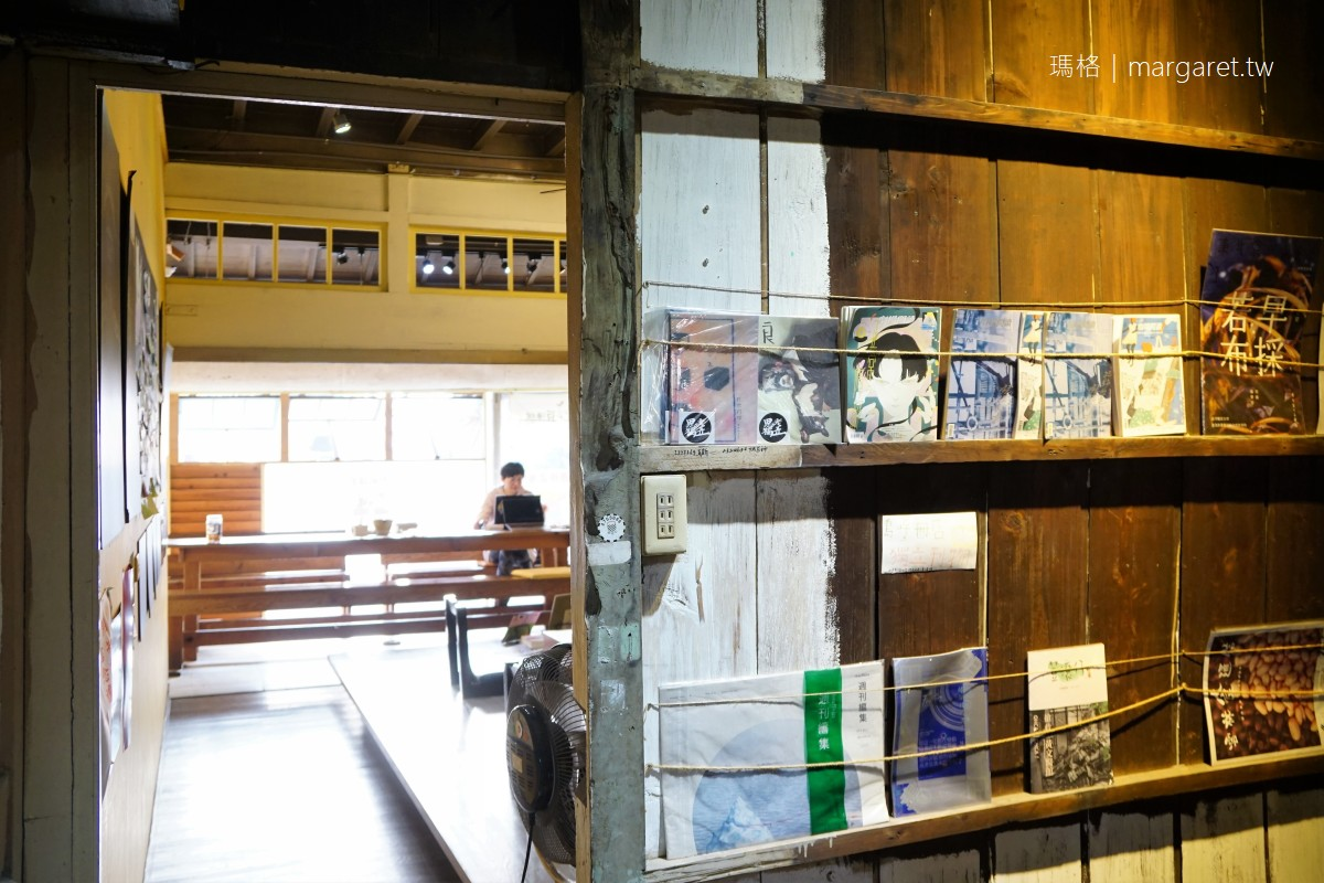 島呼冊店。是豆腐店也是獨立書店|嘉義後驛日式老屋與北港車頭