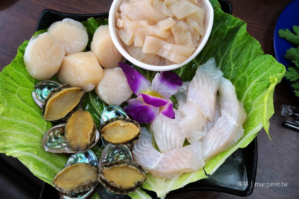 新新園汕頭火鍋。嘉義友愛店|大推蝦米扁魚湯頭、愛心蛋酥