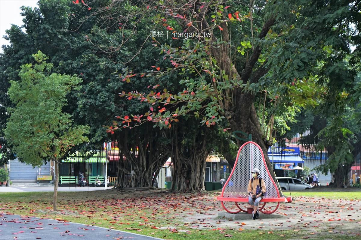千禧公園。屏東都市之肺|生態休閒綠地 #小帽子遊記