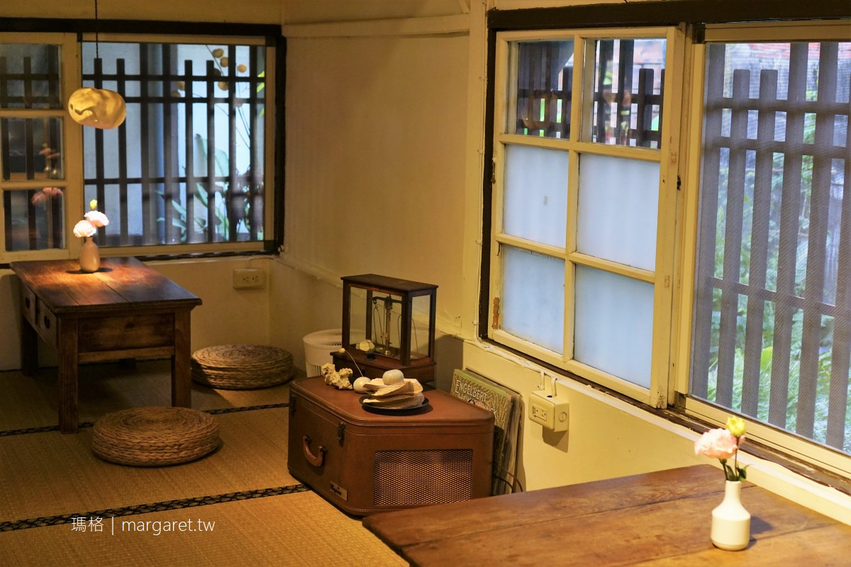 穀谷。日式老屋咖哩、披薩|嘉義巷子裡的美食