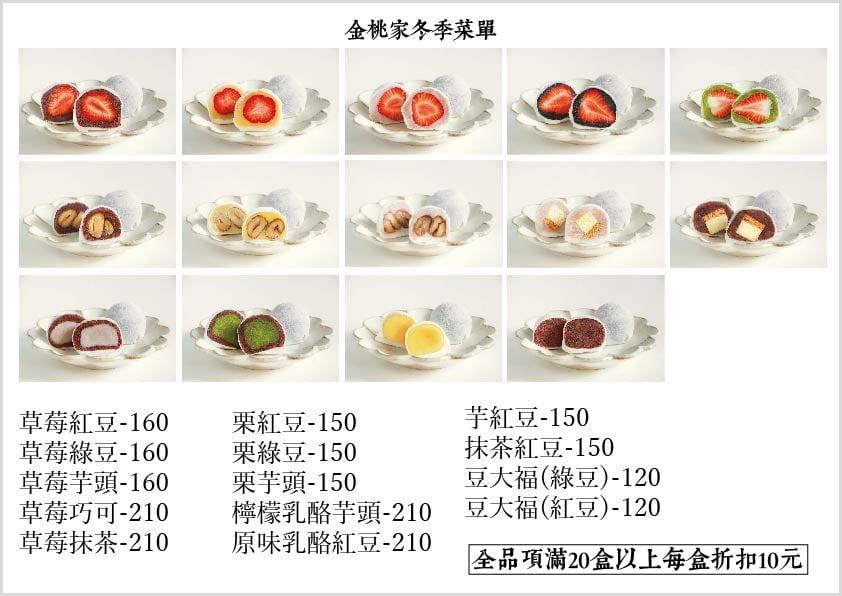 金桃家草莓大福。排隊1.5小時才買到|台南人送禮情深義重