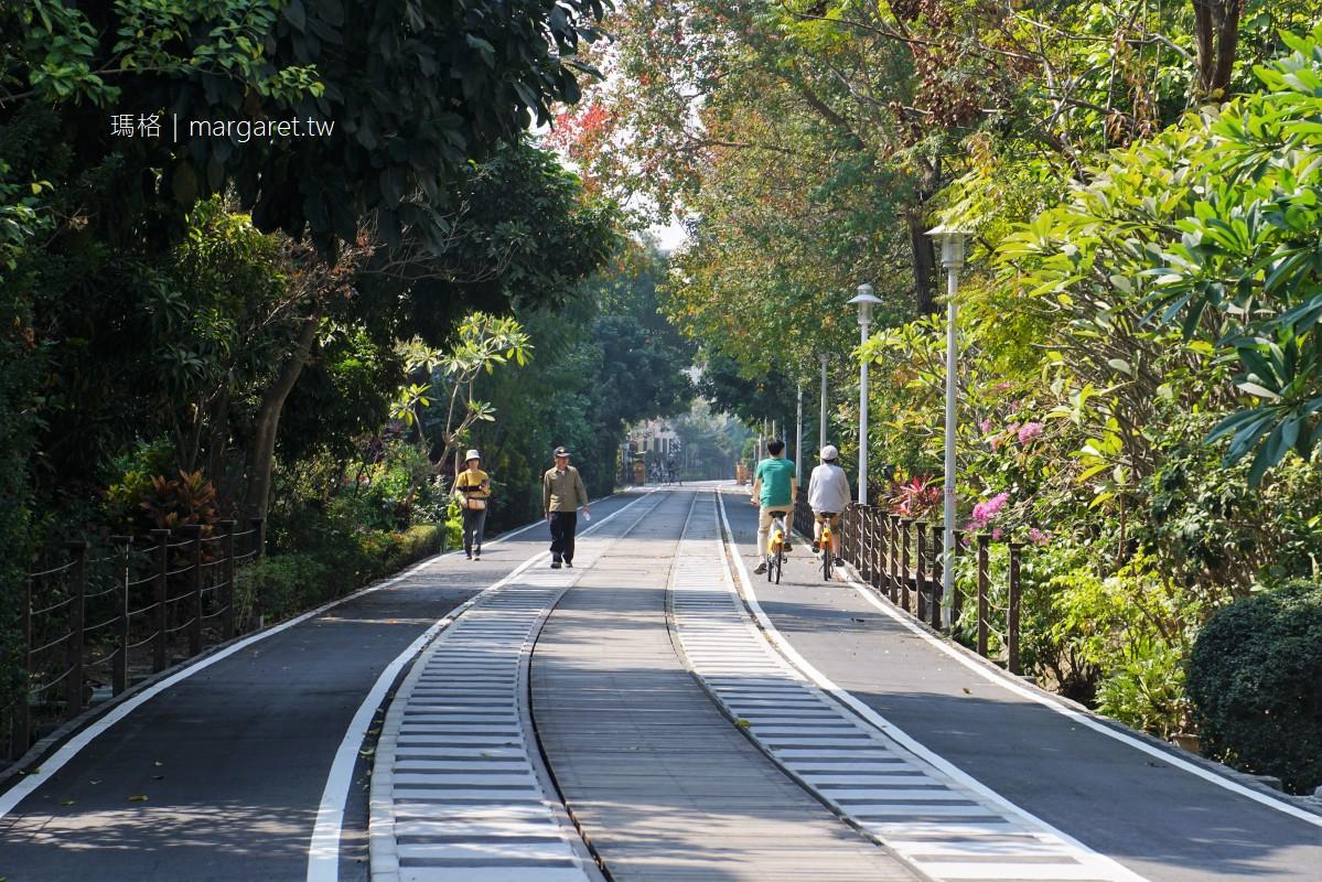 嘉油鐵馬道。舊鐵道改造的嘉義自行車道|沿途美不勝收 (附錄:小可愛協尋記)