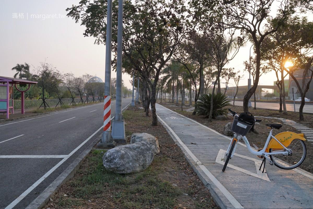 博愛自行車道。穿越北回歸線|趣味減重宣導、桃城管樂裝置