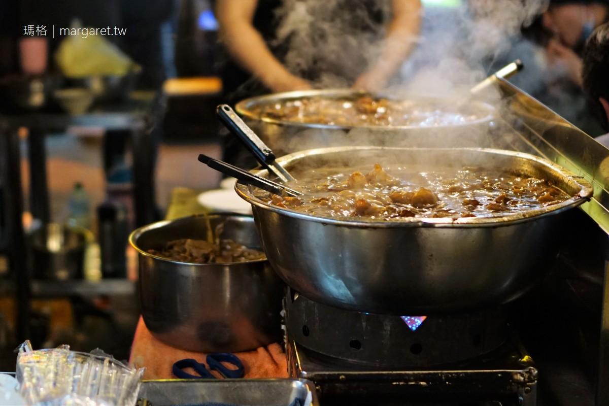 牛媽媽沙茶牛肉。焢肉飯|寧夏夜市60年小吃攤