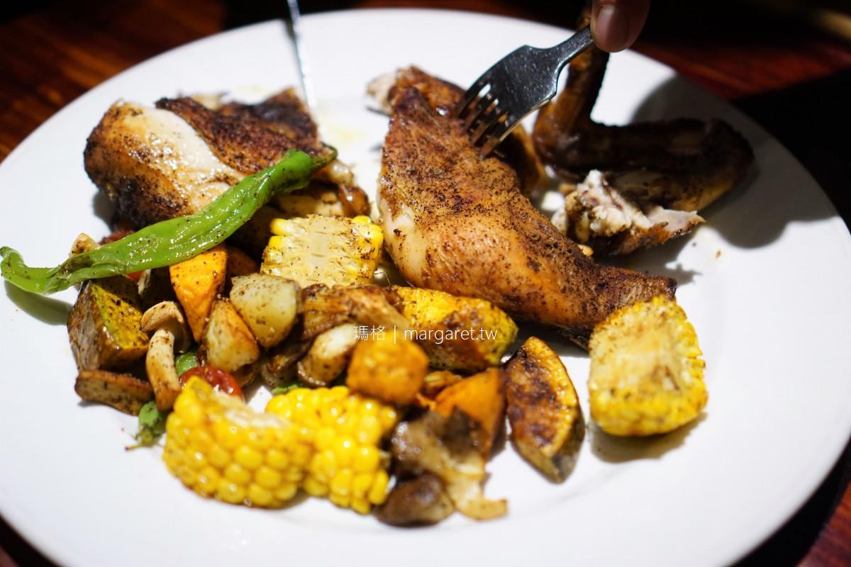 小洋蔥手作廚房。鐮刀式烤半雞碳烤蔬菜|嘉義義式料理 (遷址更新)
