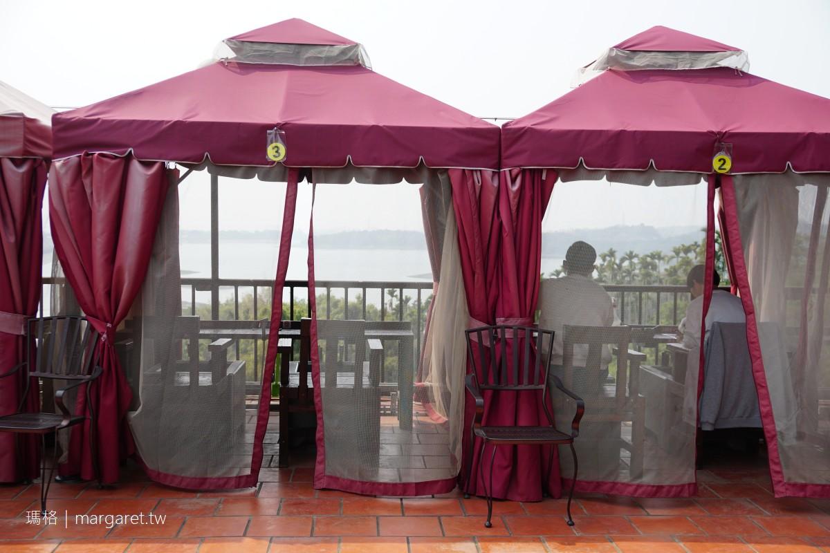清豐濤月景觀餐廳。嘉義仁義潭至高點|泡腳雙人帳。百萬廁所皆可賞景