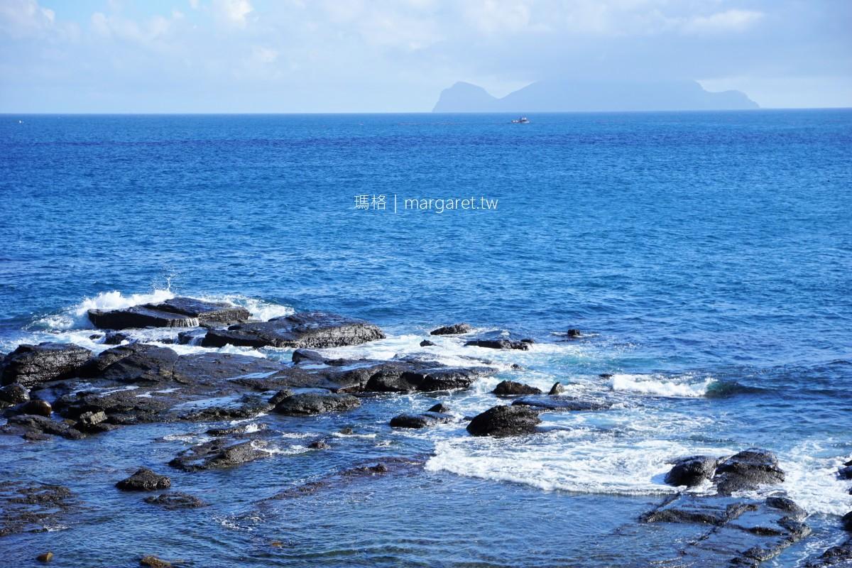 桶盤堀漁港。石牆遺跡與海蝕平台|船長釣魚的秘密基地