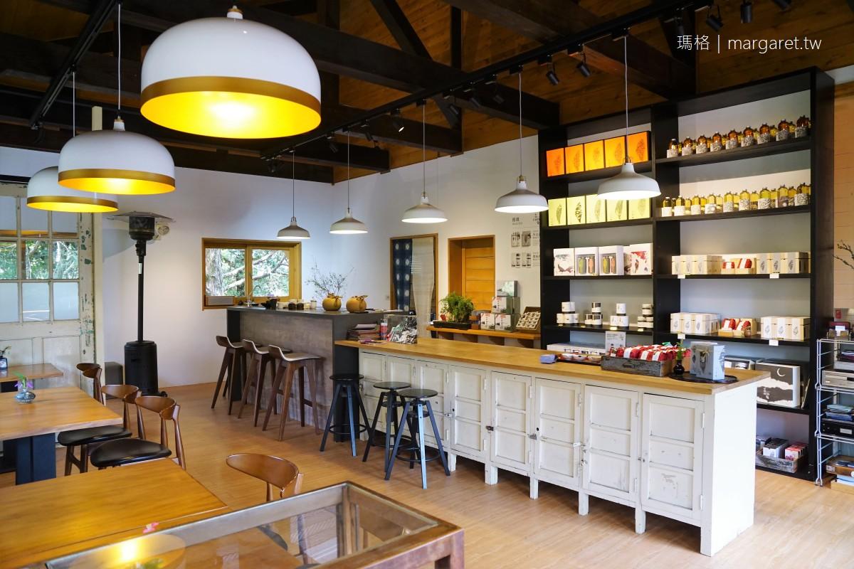 茶田35號。櫻花樹下的浪漫茶席|阿里山植物園的隱世高山茶