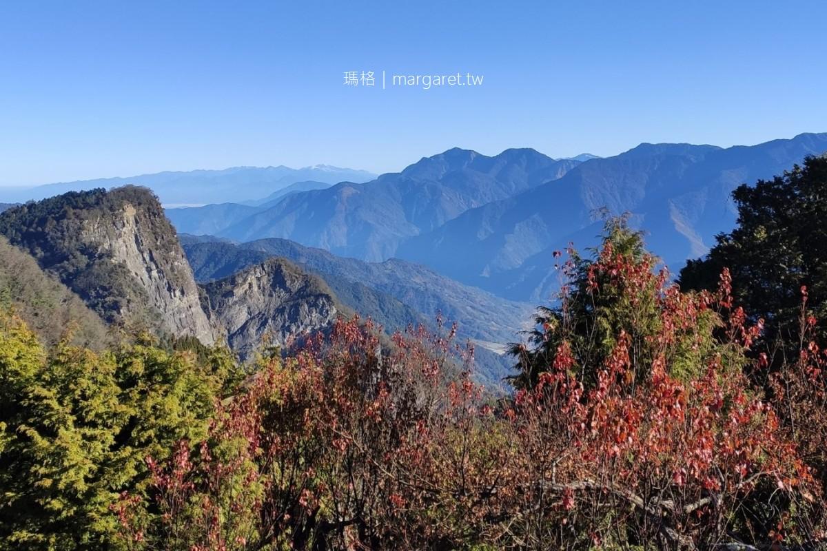 小笠原觀景台。阿里山新八景之一|360度環景觀賞日出、夕陽、雲海、星空